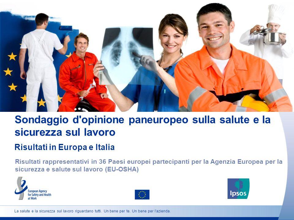 32 http://osha.europa.eu Sesso Età Situazione lavorativa Quanto è daccordo o in disaccordo con la seguente affermazione.