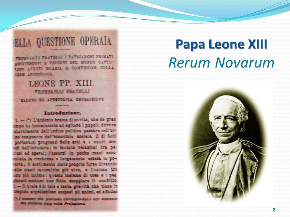 Papa Leone XIII Rerum Novarum 3