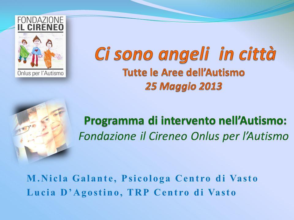 M.Nicla Galante, Psicologa Centro di Vasto Lucia DAgostino, TRP Centro di Vasto