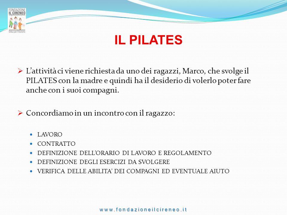 www.fondazioneilcireneo.it SOGGIORNO ESTIVO