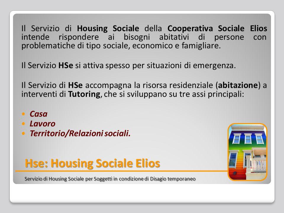 Il Servizio di Housing Sociale della Cooperativa Sociale Elios intende rispondere ai bisogni abitativi di persone con problematiche di tipo sociale, economico e famigliare.