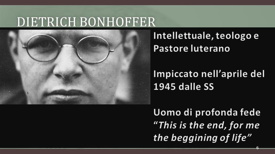 DIETRICH BONHOFFERDIETRICH BONHOFFER 6