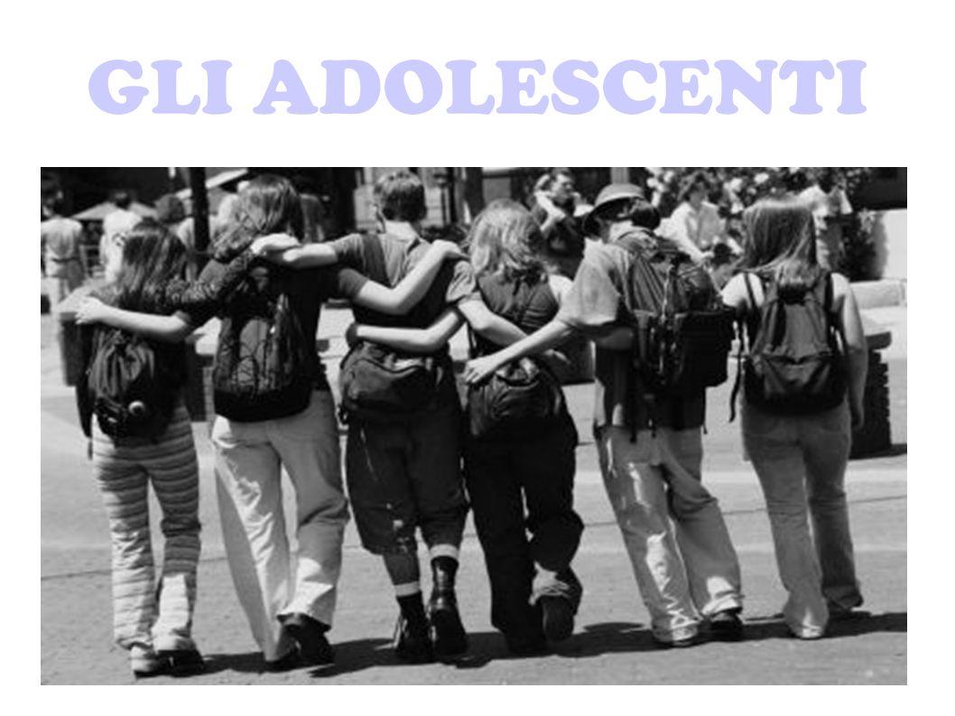 GLI ADOLESCENTI