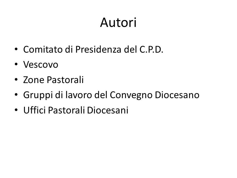 Autori Comitato di Presidenza del C.P.D.