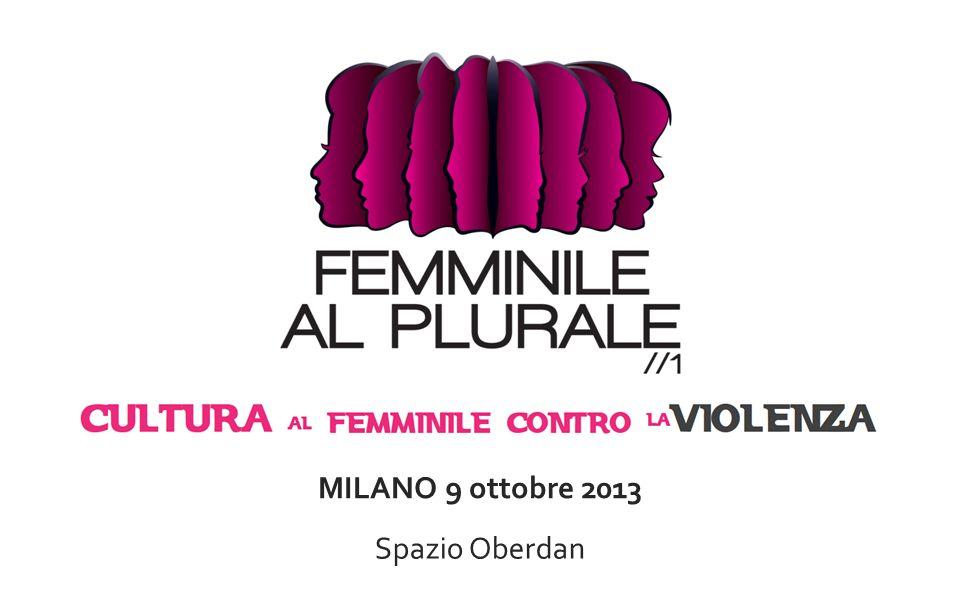 MILANO 9 ottobre 2013 Spazio Oberdan