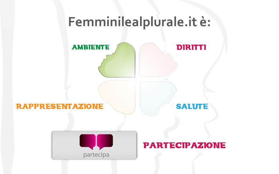 Partecipano a Femminile al Plurale