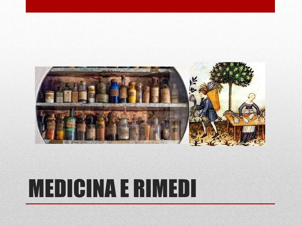 MEDICINA E RIMEDI