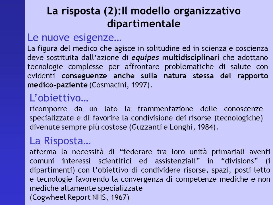 Lobiettivo… ricomporre da un lato la frammentazione delle conoscenze specializzate e di favorire la condivisione dei risorse (tecnologiche) divenute s
