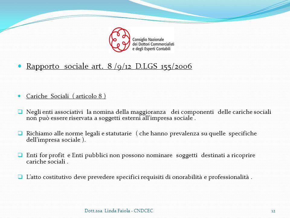 Rapporto sociale art.