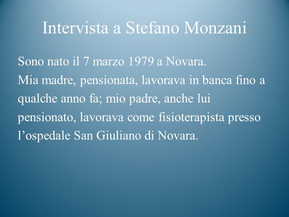 Gli studi della tua carriera scolastica Ho frequentato la scuola elementare Bottacchi di Novara.