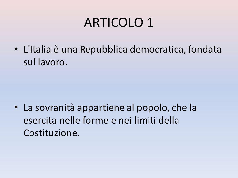 ARTICOLO 2 La Repubblica riconosce e garantisce i diritti inviolabili dell uomo, sia come singolo sia nelle formazioni sociali ove si svolge la sua personalità, e richiede l adempimento dei doveri inderogabili di solidarietà politica, economica e sociale.