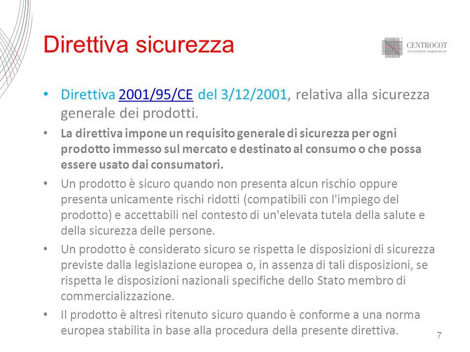 28 Centrocot UNI EN ISO 14001- EMAS - Oeko 1000