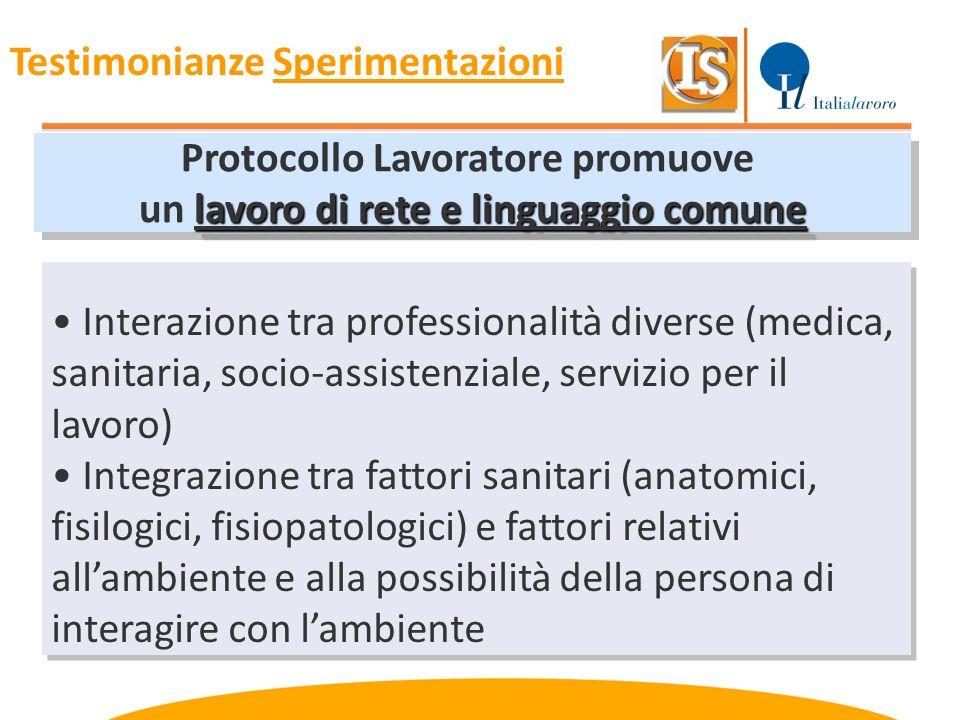 Protocollo Lavoratore promuove lavoro di rete e linguaggio comune un lavoro di rete e linguaggio comune Protocollo Lavoratore promuove lavoro di rete