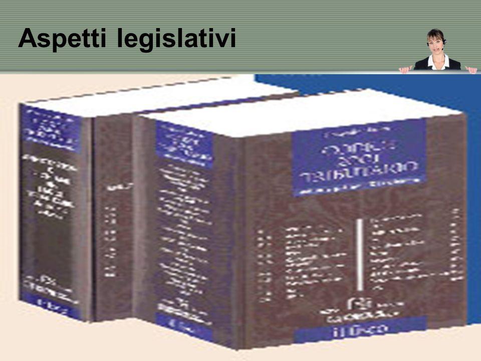 Aspetti legislativi