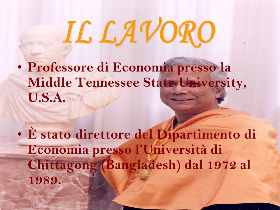 Professore di Economia presso la Middle Tennessee State University, U.S.A. È stato direttore del Dipartimento di Economia presso lUniversità di Chitta