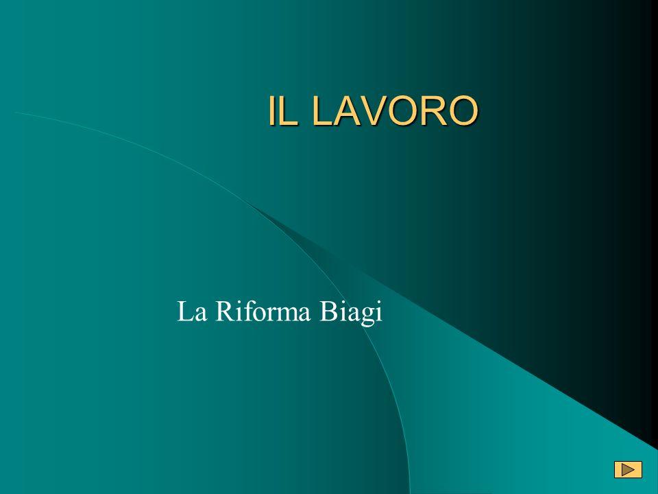 Il vero insuccesso della legge Biagi trova il suo apice nelluso del lavoro a coppia.
