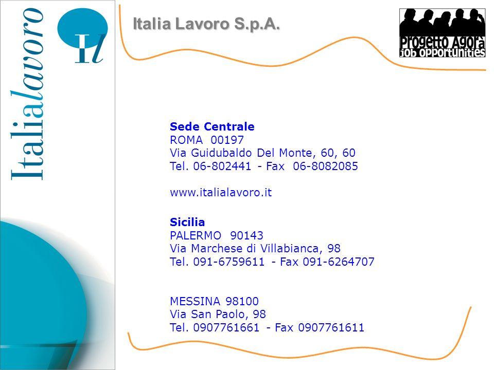 Sede Centrale ROMA 00197 Via Guidubaldo Del Monte, 60, 60 Tel.