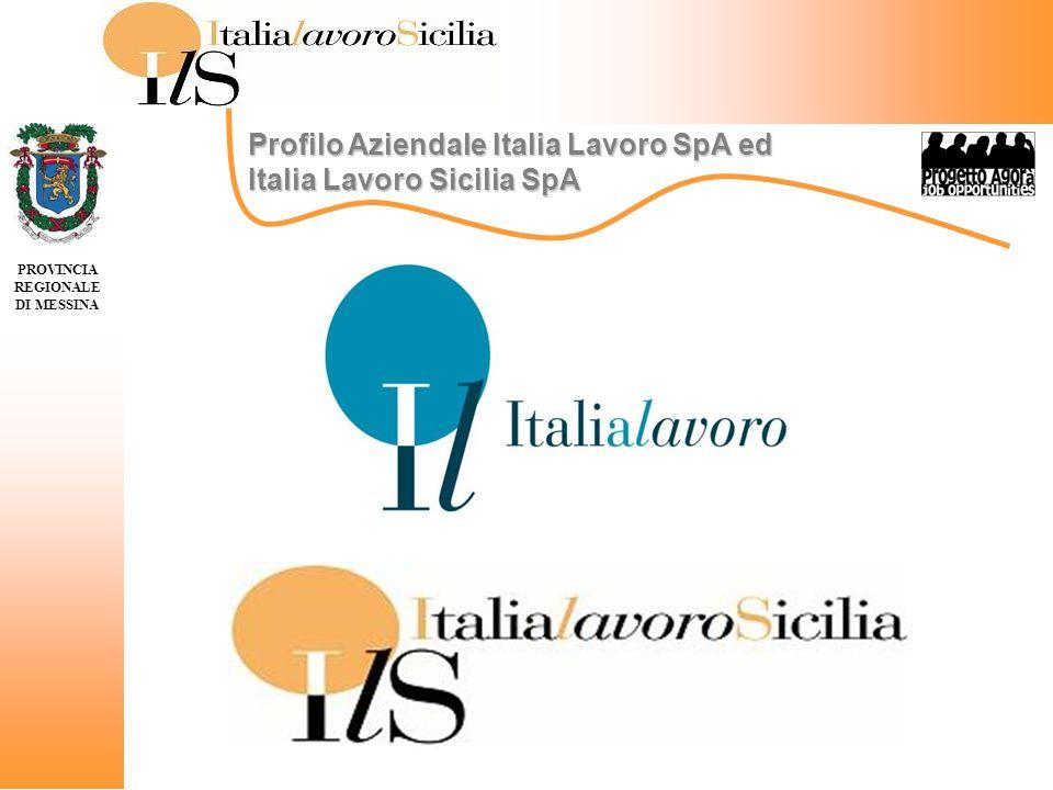 Italia Lavoro è una società per azioni, totalmente partecipata dal Ministero dellEconomia e delle Finanze, costituita nel 1997 con Direttiva del Presidente del Consiglio dei Ministri.
