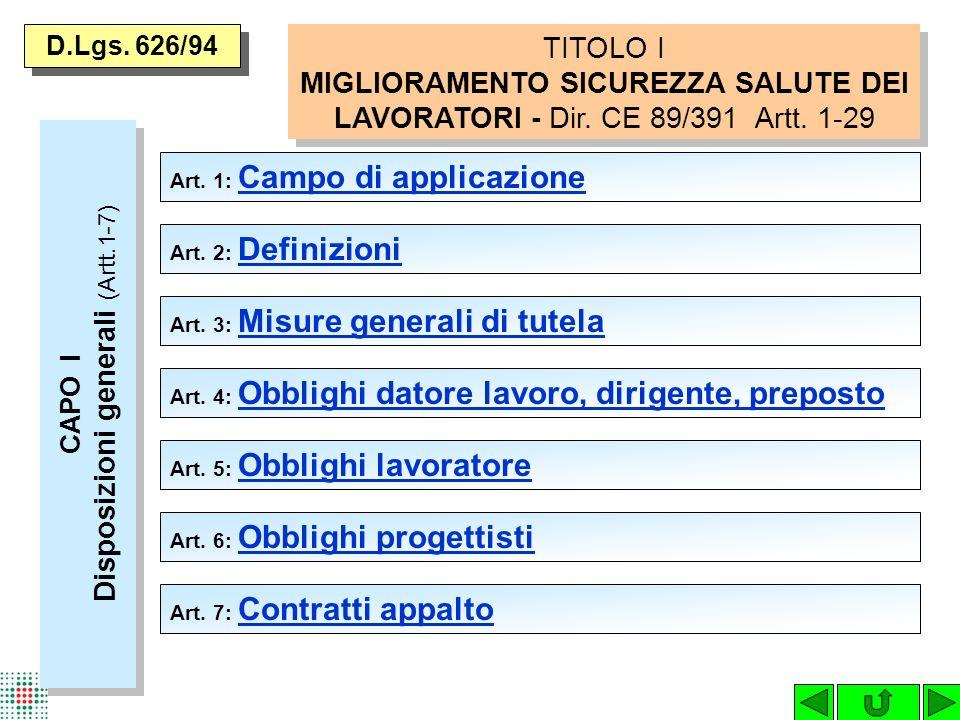 SERVIZIO DI PREVENZIONE E PROTEZIONE (Art.11) Partecipanti: - D.d.L.