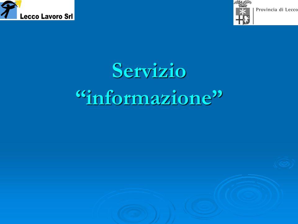 Servizio informazione
