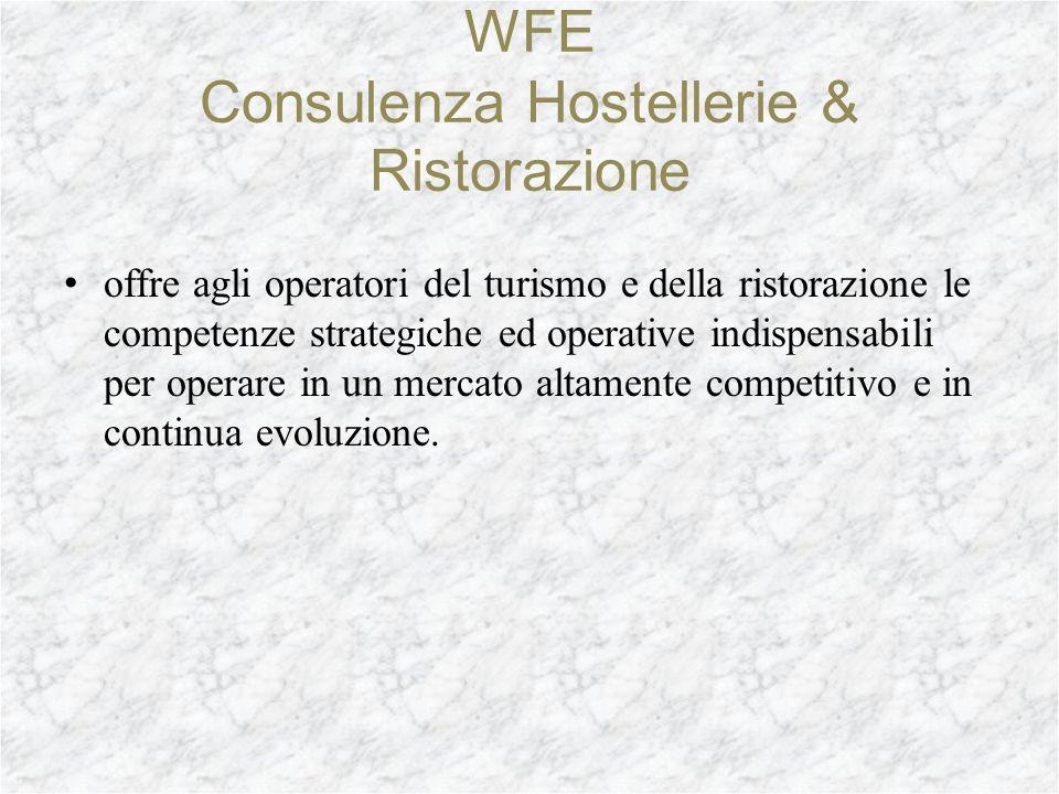 offre agli operatori del turismo e della ristorazione le competenze strategiche ed operative indispensabili per operare in un mercato altamente competitivo e in continua evoluzione.