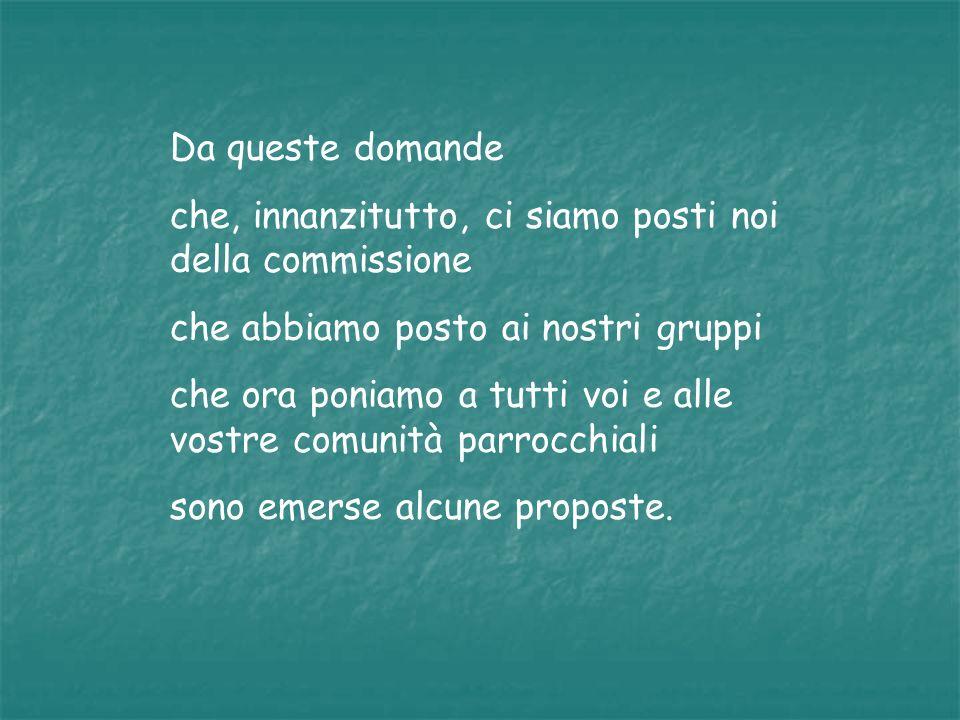 Innanzitutto vogliamo sottolineare che è necessario riprendere il discorso fatto da don Nino Pangallo al Convegno Diocesano sulle fragilità e in particolare su fragilità e lavoro negato.