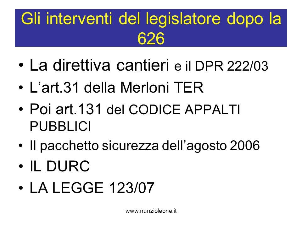 www.nunzioleone.it Art.4 (Contenuto del Documento) 1.