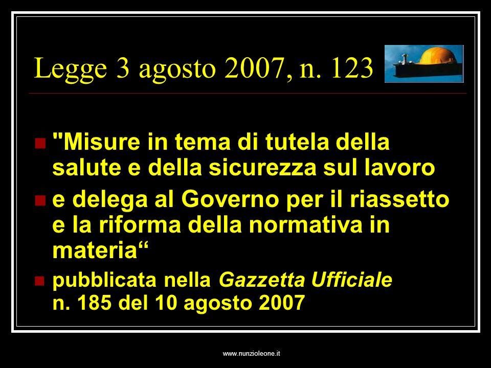 www.nunzioleone.it Art.5 (Requisiti di regolarità contributiva) 1.