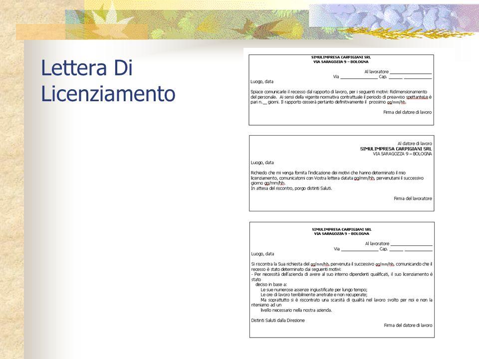 CESSAZIONE DEL RAPPORTO DI LAVORO Può avvenire per: Scadenza del contratto Morte del lavoratore Pensionamento Dimissioni Le dimissioni possono avvenir