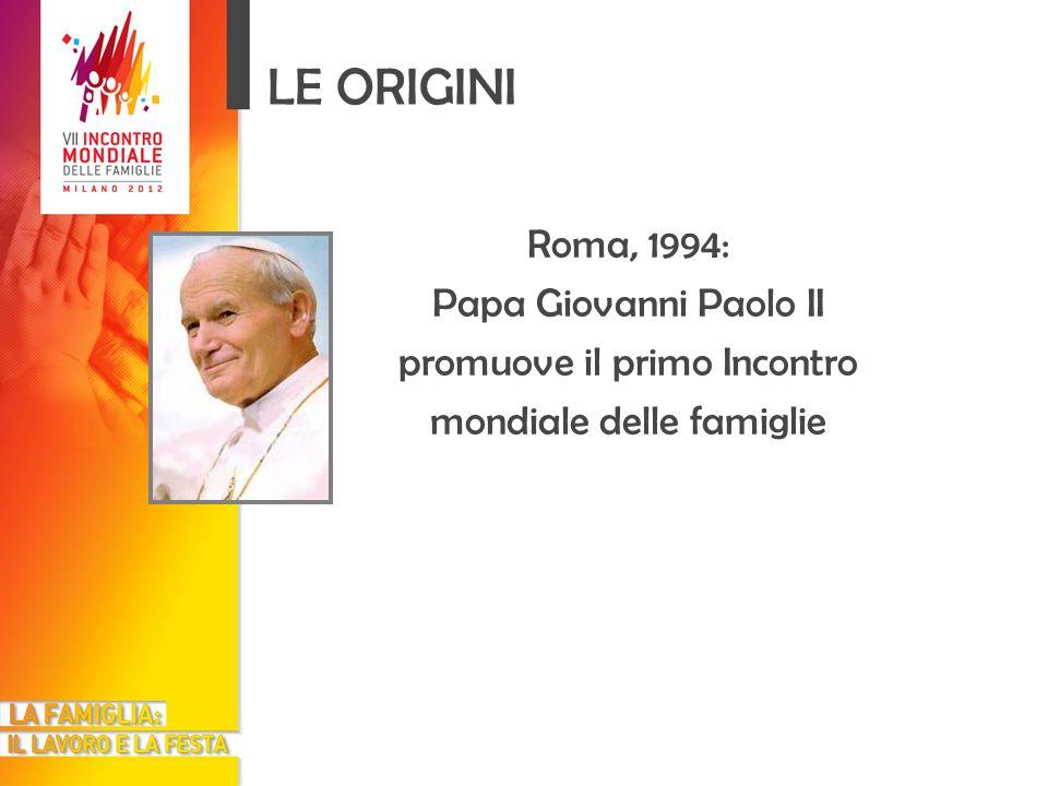 I GIORNI DELL INCONTRO Un programma di massima Domenica 3 giugno 2012 Santa Messa presieduta da Papa Benedetto XVI