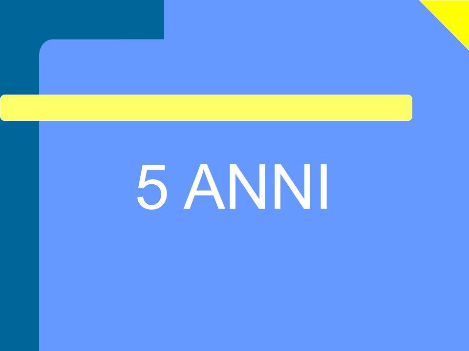 5 ANNI