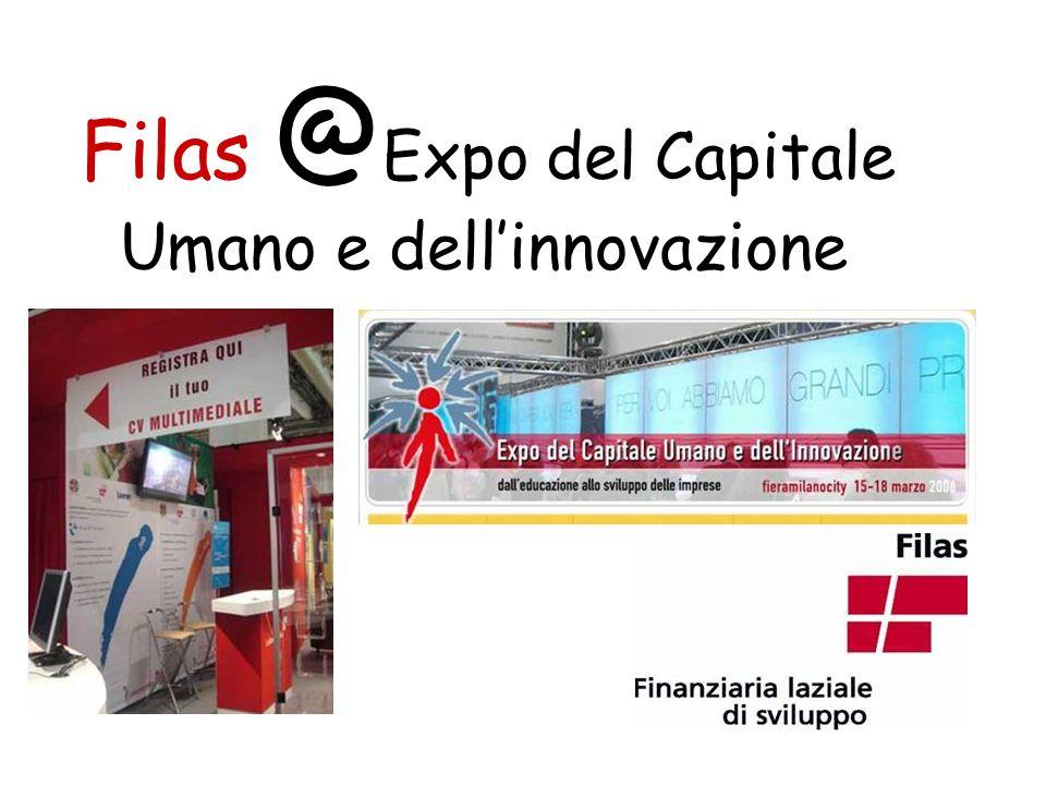Filas @ Expo del Capitale Umano e dellinnovazione