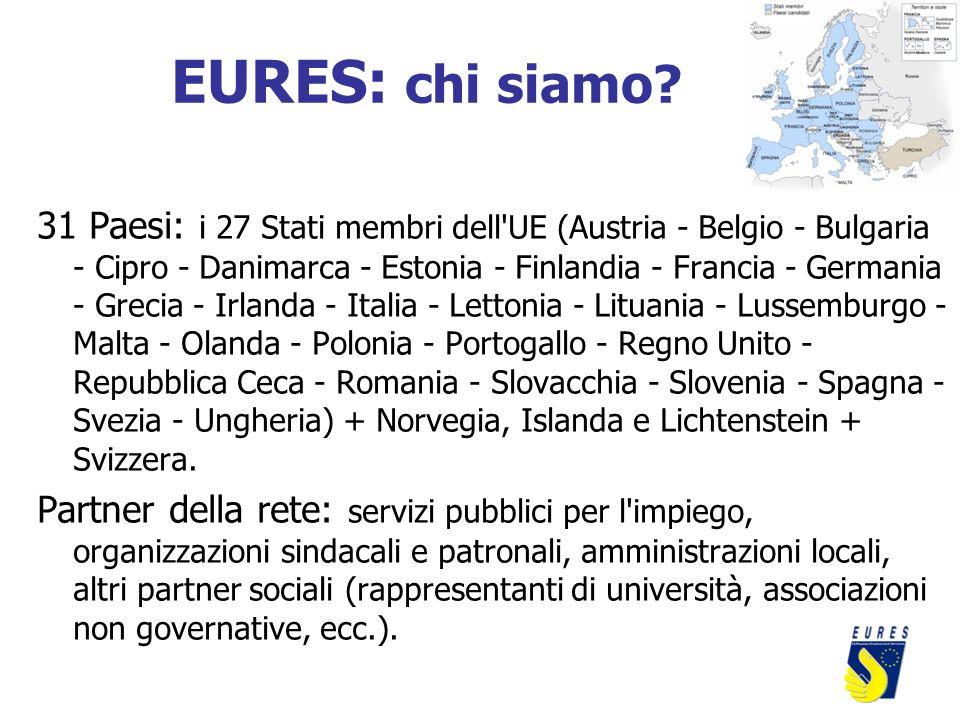 31 Paesi: i 27 Stati membri dell'UE (Austria - Belgio - Bulgaria - Cipro - Danimarca - Estonia - Finlandia - Francia - Germania - Grecia - Irlanda - I