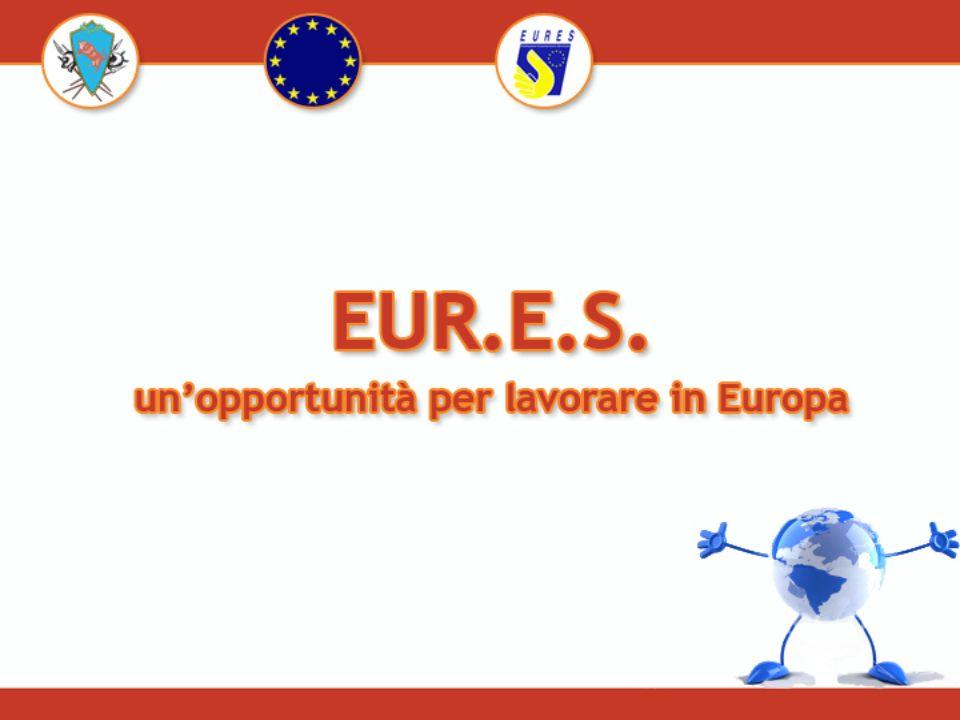 La Commissione europea, i servizi delloccupazione degli Stati membri e ogni altro eventuale partner nazionale creano una rete europea di servizi denominata EUR.E.S La Commissione europea con la Decisione del 23 dicembre 2002 integra appieno nelle attività dei S.P.I.