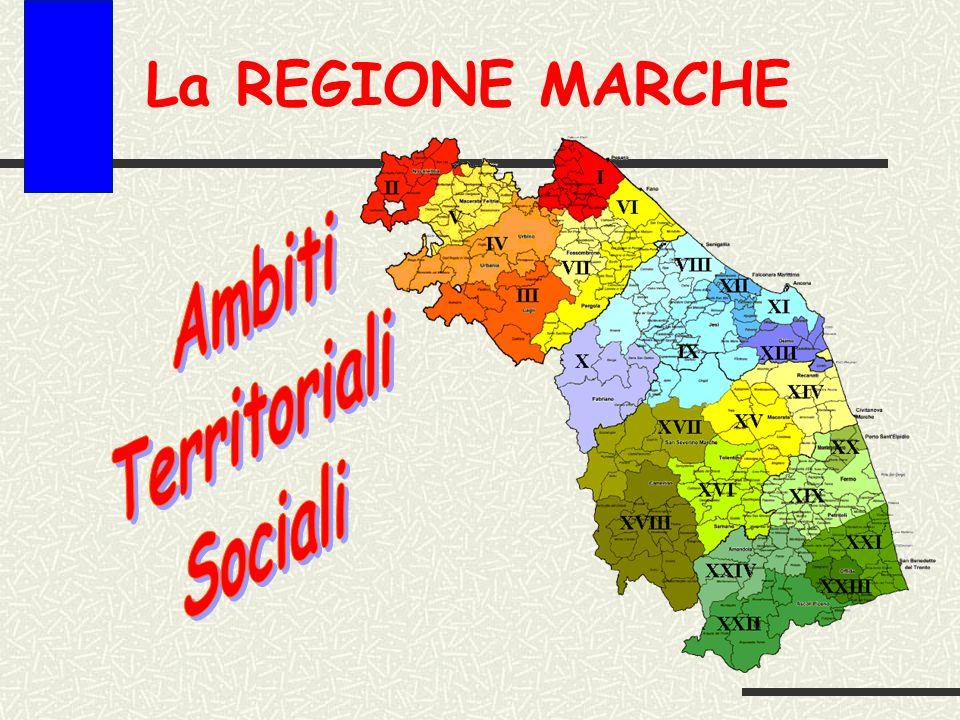 La REGIONE MARCHE