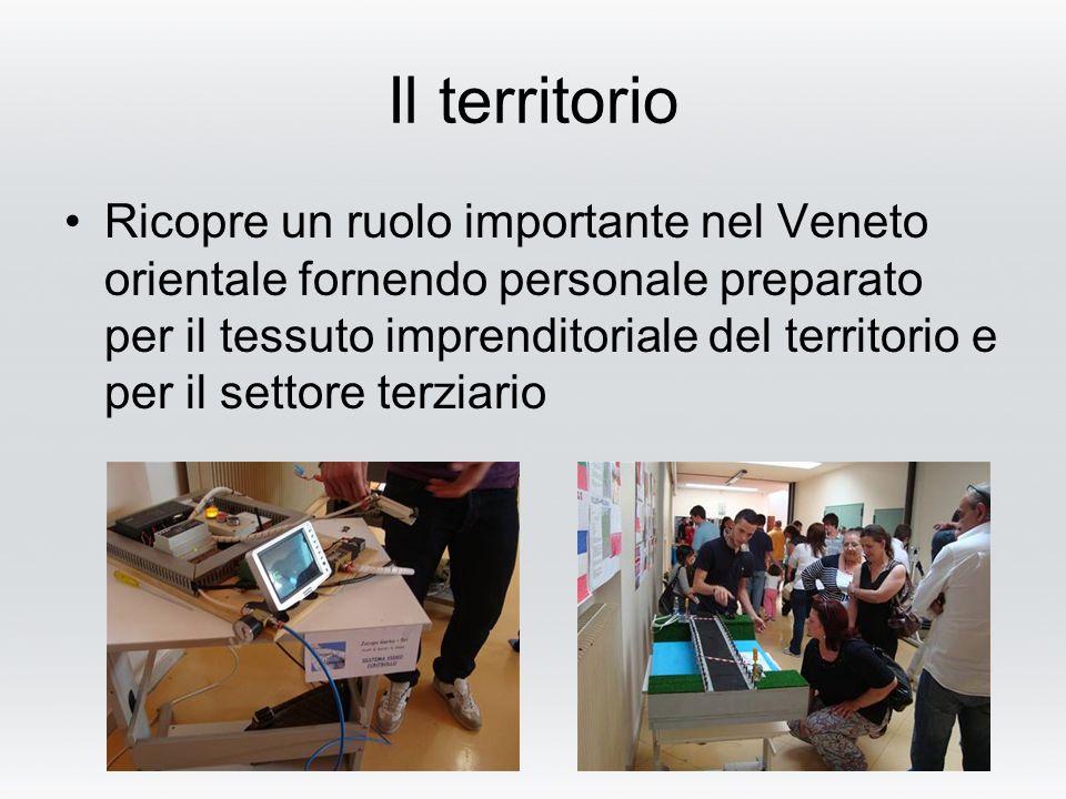 Il territorio Ricopre un ruolo importante nel Veneto orientale fornendo personale preparato per il tessuto imprenditoriale del territorio e per il settore terziario