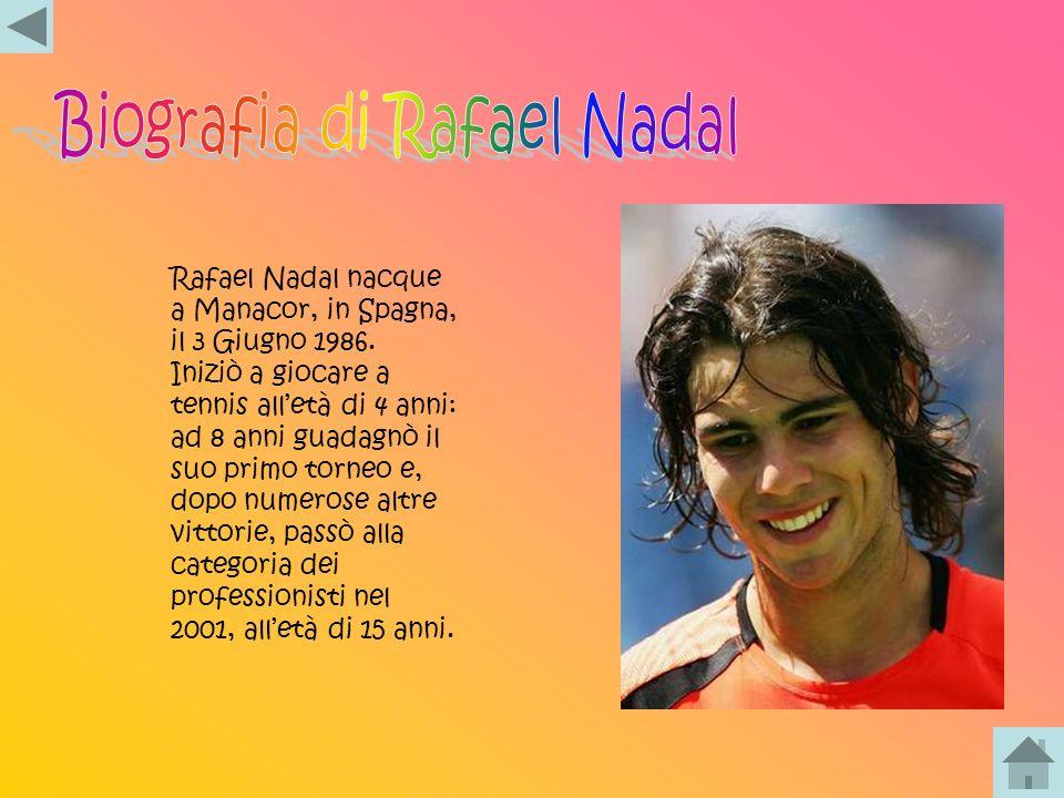 Roger Federer nacque a Binningen, in Svizzera, l8 Agosto 1981. Federer iniziò a giocare a tennis alletà di 6 anni. A 14 anni diventò campione svizzero