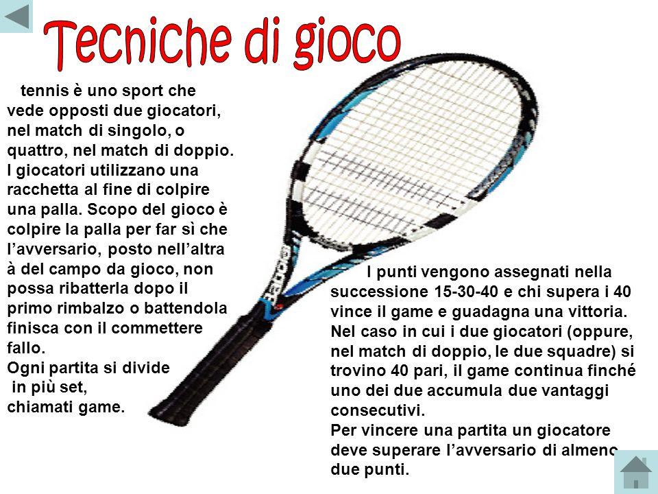 Lorigine del tennis attuale potrebbe derivare da antichi giochi latini (pila trigonalis) e dal gioco francese jeu de paume, unevoluzione della pallaco