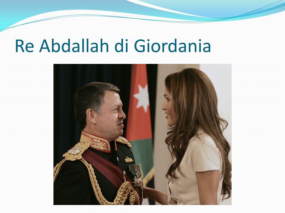 Re Abdallah di Giordania