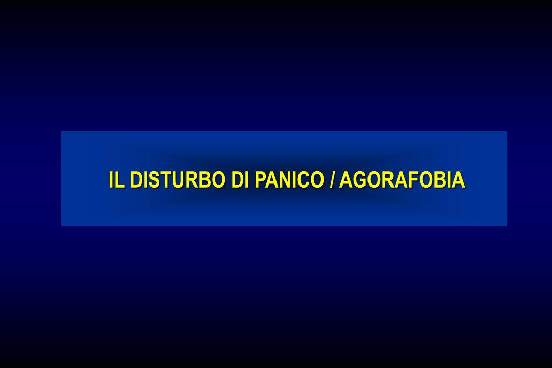 IL DISTURBO DI PANICO / AGORAFOBIA IL DISTURBO DI PANICO / AGORAFOBIA