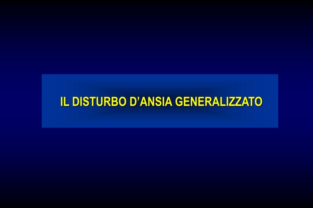 IL DISTURBO DANSIA GENERALIZZATO IL DISTURBO DANSIA GENERALIZZATO