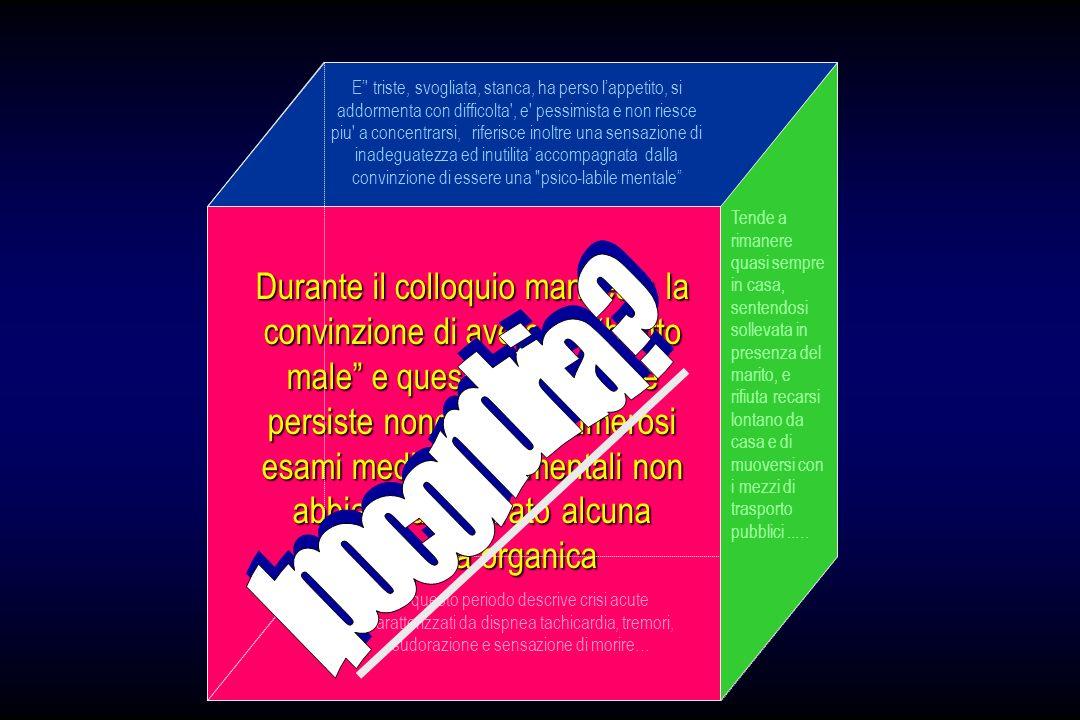 INTERAZIONE DISTURBO DANSIA – PATOLOGIA MEDICA DISTURBODANSIA ACCENTUAZIONE QUADRO CLINICO MEDICO POTENZIAMENTO TRATTAMENTIANSIOLITICI PATOLOGIASOMATICA COMPLIANCE - COMPORTAMENTITERAPEUTICI