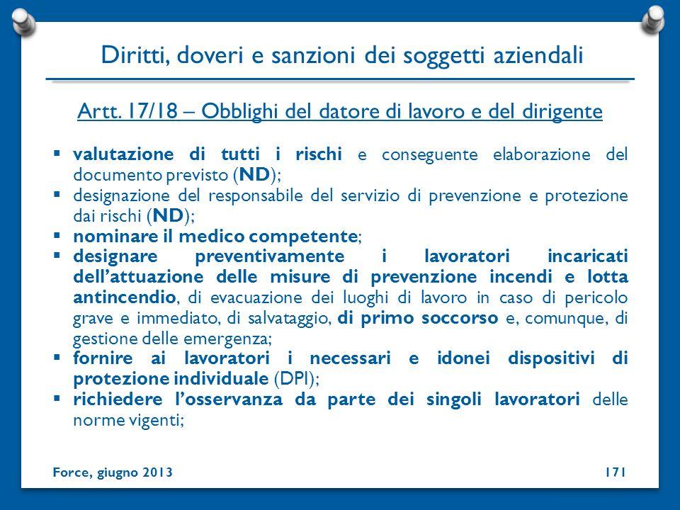 valutazione di tutti i rischi e conseguente elaborazione del documento previsto (ND); designazione del responsabile del servizio di prevenzione e prot