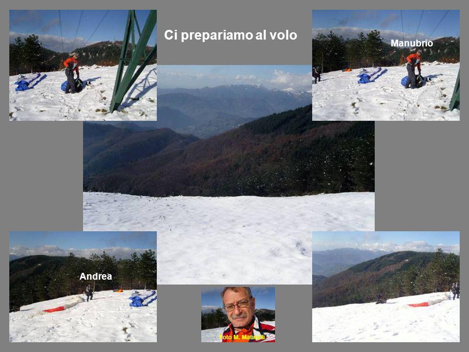 Foto M. Matinelli Ci prepariamo al volo Andrea Manubrio