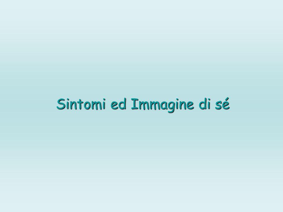 Sintomi ed Immagine di sé