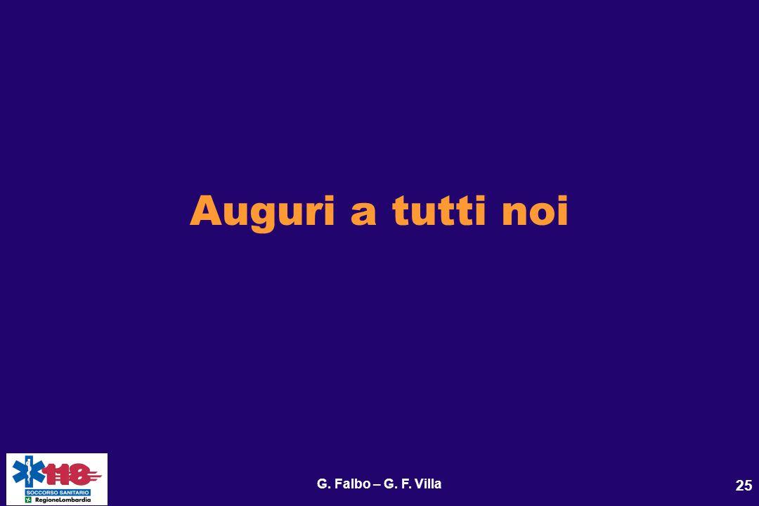 G. Falbo – G. F. Villa 25 Auguri a tutti noi
