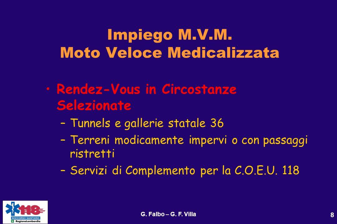 G.Falbo – G. F. Villa 9 Impiego M.V.M.