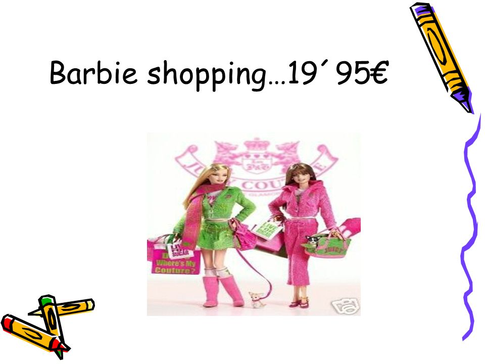 Barbie alla playa…19´95