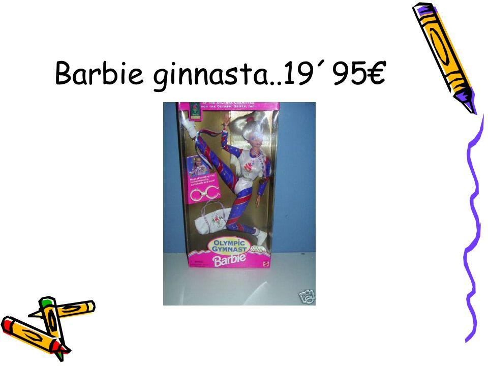 Barbie ginnasta..19´95