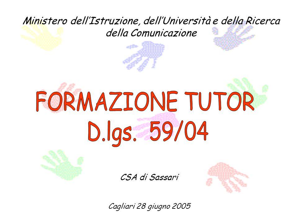 Ministero dellIstruzione, dellUniversità e della Ricerca della Comunicazione CSA di Sassari Cagliari 28 giugno 2005